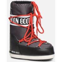 SALE -30 Moon Boot - Moon Boot JR Boy Tiger - SALE Sportschuhe für Kinder / schwarz