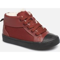 SALE -20 Clarks - City Peak T warm - SALE Sneaker für Kinder / rot