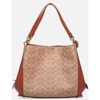 Coach - Dalton 31 Shoulder Bag - Handtaschen / braun