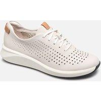 Clarks Unstructured - Un Rio Tie - Sneaker für Damen / weiß