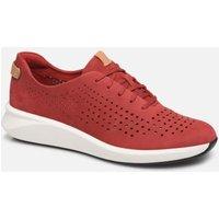Clarks Unstructured - Un Rio Tie - Sneaker für Damen / rot