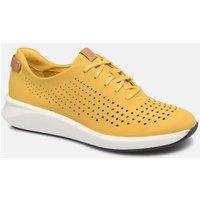 Clarks Unstructured - Un Rio Tie - Sneaker für Damen / gelb