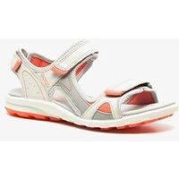 Ecco cruise dames sandalen met drie verstelbare bandjes met klittenband. deze comfortabele sandaal heeft een ...