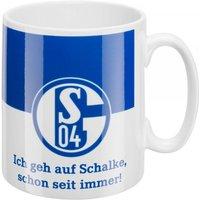 Kaffeebecher Ich geh auf Schalke schon seit immer