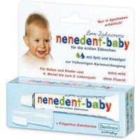 nenedent®-baby Zahnpflege-Lernset mit Fingerhut-Zahnbürste