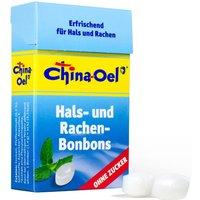 China-Oel® Hals- und Rachenbonbons - ohne Zucker