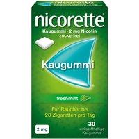 nicorette® Kaugummi freshmint 2 mg