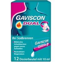 Gaviscon® Dual 500 mg / 213 mg / 325 mg bei Sodbrennen