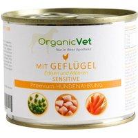OrganicVet Hund Sensitive Geflügel