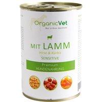 OrganicVet Hund Sensitive Lamm, Hirse mit Kürbis