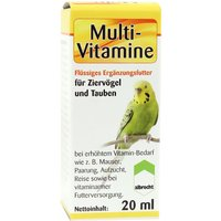 Multi-Vitamine Für Ziervögel und Tauben