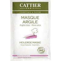 Cattier Rosa Heilerde Maske Einmalanwendung