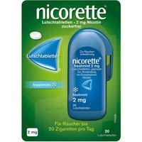 nicorette® Lutschtablette freshmint 2 mg