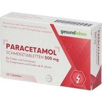 gesundleben Paracetamol Schmerztabletten 500 mg