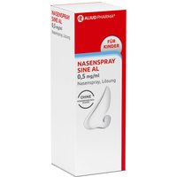 Nasenspray Sine AL 0,5 mg/ml für Kinder