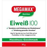 Megamax® Nutrition Eiweiß 100 Haselnuss-Geschmack