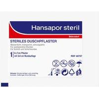Hansapor steril Duschpflaster 6 cm x 7 cm