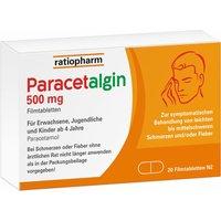 Paracetalgin-ratiopharm® 500 mg