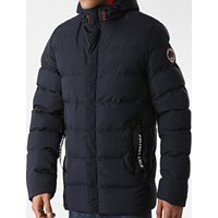 Coats / Jackets Chappin Quilted Puffer Coat with Hood In Sky Captain Navy - Tokyo Laundry / M - Tokyo Laundry