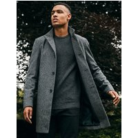 Coats / Jackets Libertas Wool Blend Coat in Dogtooth - Tokyo Laundry / M - Tokyo Laundry