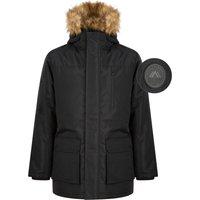 Coats / Jackets Pahana Taslon Parka Coat with Faux Fur Trim Hood in Jet Black - Tokyo Laundry / M - Tokyo Laundry