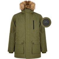 Coats / Jackets Pahana Taslon Parka Coat with Faux Fur Trim Hood in Ivy Green - Tokyo Laundry / XXL - Tokyo Laundry