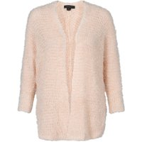 Cardigans Womens Striped Loose Fit Cardigan in Scallop Shell / 14 - Tokyo Laundry