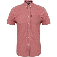 Shirts Clermont Short Sleeve Gingham Shirt in Rio Red – Le Shark / L - Tokyo Laundry