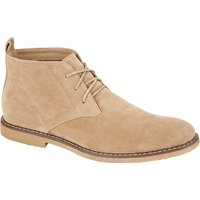 Shoes Panama Suedette Desert Boots In Sand / UK 11 - Tokyo Laundry
