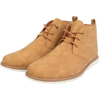 Shoes Century Faux Leather Chukkah Desert Boots in Tan – Tokyo Laundry / 9/43 - Tokyo Laundry