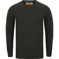 Jumpers Bate Wool Rich Knitted Jumper in Charcoal - Tokyo Laundry / XL - Tokyo Laundry
