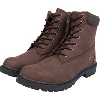Shoes Sirius Faux Leather Lace Up Hiking Style Boots in Brown – Tokyo Laundry / 7/41 - Tokyo Laundry