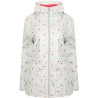 Coats / Jackets Shine Heart Print Hooded Rain Coat In Grey - Tokyo Laundry / 16 - Tokyo Laundry