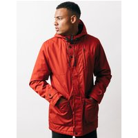 Coats / Jackets Viola Fleece Lined Hooded Parka Coat in Burnt Orange - Tokyo Laundry / S - Tokyo Laundry