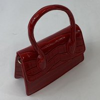 Classic Vintage May Purse In Wine Red