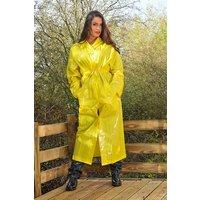 "1950s Style  ""Classic Fashion Rain Mac"" True Vintage Style In Yellow Matt"