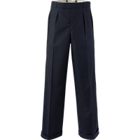 Plain Black Oxford Bags, Mens 1940s Inspired Trousers.