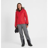 TOG24 Kirby Womens Down Filled Ski Jacket - Rouge Red
