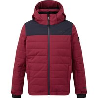 TOG24 Savick Kids Insulated Ski Jacket - Rumba Red/Navy