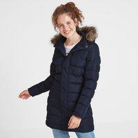 TOG24 Yeadon Womens Long Insulated Jacket - Navy