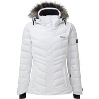 TOG24 Kirby Womens Down Filled Ski Jacket - White