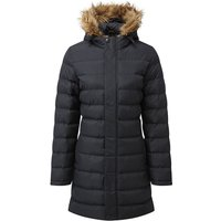 TOG24 Otley Womens Long Insulated Jacket - Black