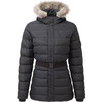 TOG24 Storey Womens Long Insulated Jacket - Black