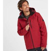 TOG24 Denton Mens Waterproof 3-In-1 Jacket - Chilli Red