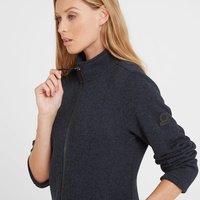 TOG24 Garton Womens Knitlook Fleece Jacket - Dark Indigo