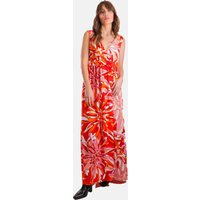 Sleeveless God's Smile Maxi Dress in Floral Print