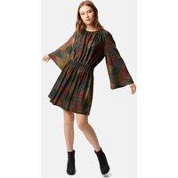 Mellow Metallic Mini Dress