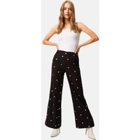 Marge Duval Flared Trousers in Black