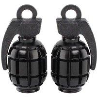 Savage Components Alloy Hand Grenade Valve Caps