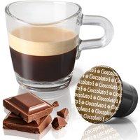 10 Kaffeekapseln mit Schokoladen Geschmack - preiswerte Alternative zu Ciocattino